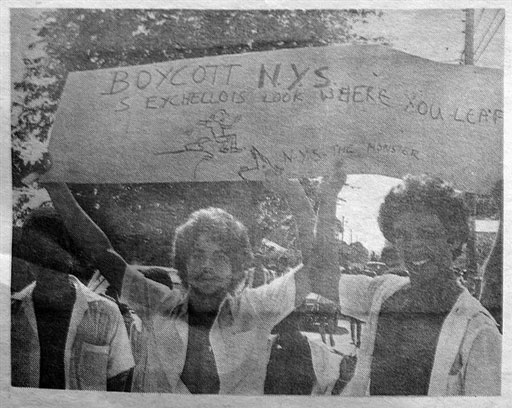 Photos Of 1979 Students Protest In Seychelles